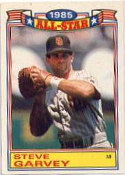 1986 Topps Glossy All-Stars Gray Stock Baseball Cards     013      Steve Garvey